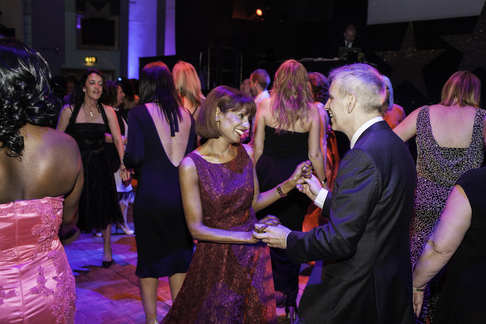 Guests of the Post Office awards dancing at the Troxy