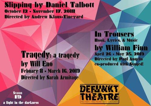 Tickets — Defunkt Theatre