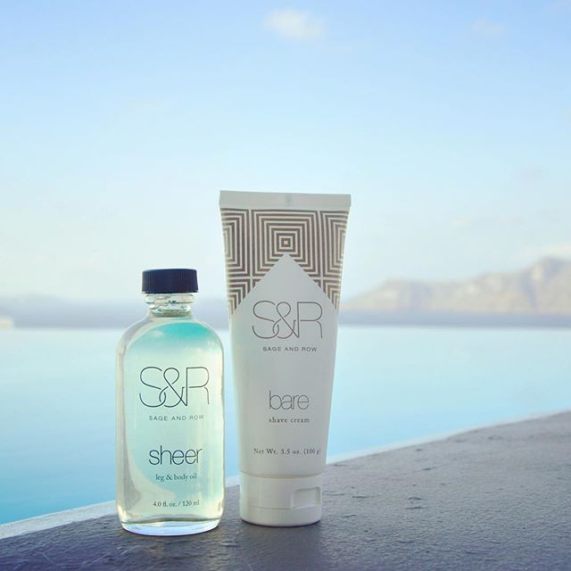 Bare & sheer, the perfect travel companions to keep your legs smooth #tbt