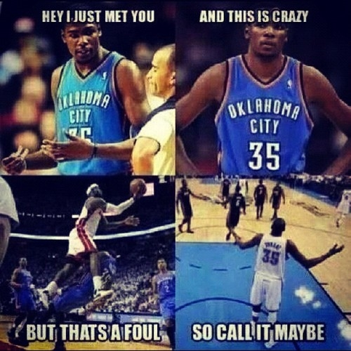 creator unknown – possibly my favorite meme from the finals