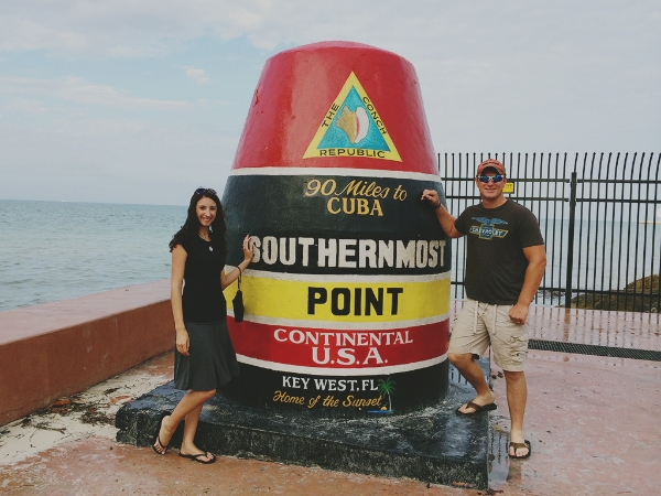 Honeymoon at the Southernmost