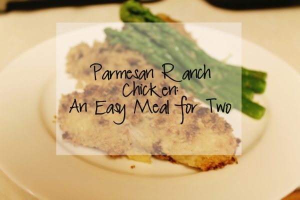 Parmesan Ranch Chicken Easy Meal for Two.jpg