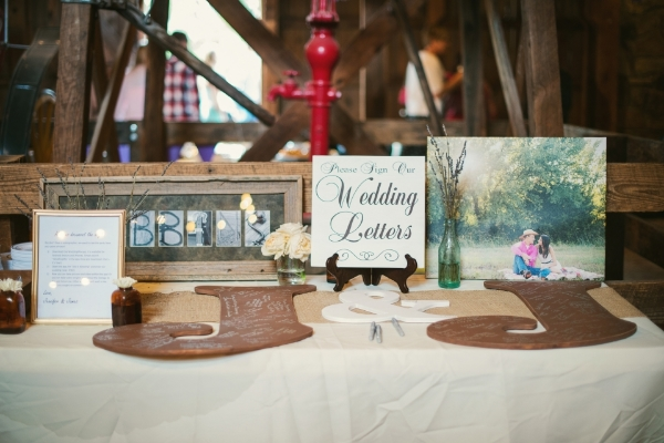Reception Decor - Guest Book
