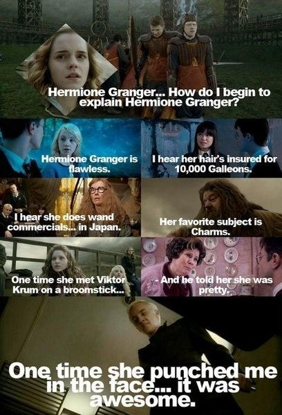 Harry Potter/Mean Girls Mashup