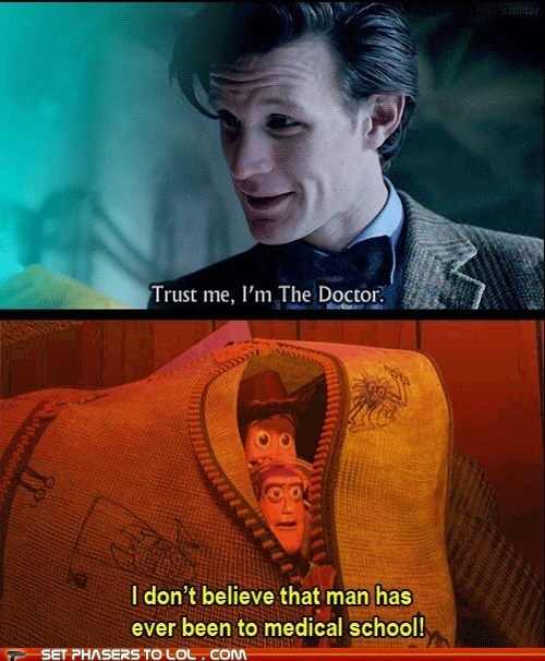 Toy Story meets Doctor Who