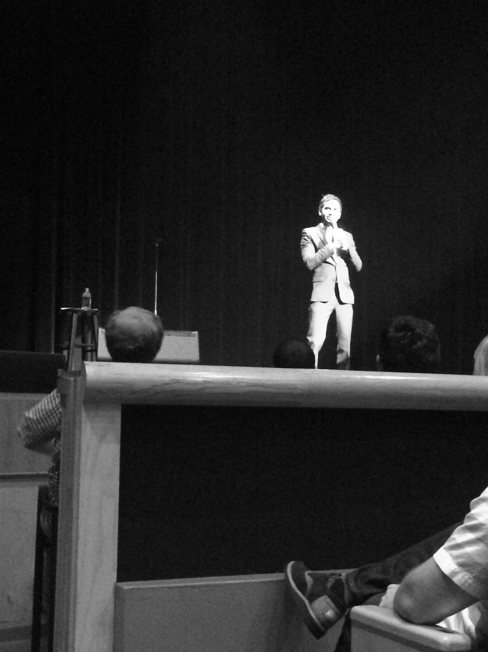 Aziz Ansari in OKC - from Mrs Robbins Sparkles