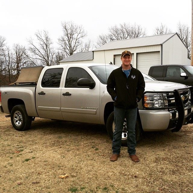 James and his new truck