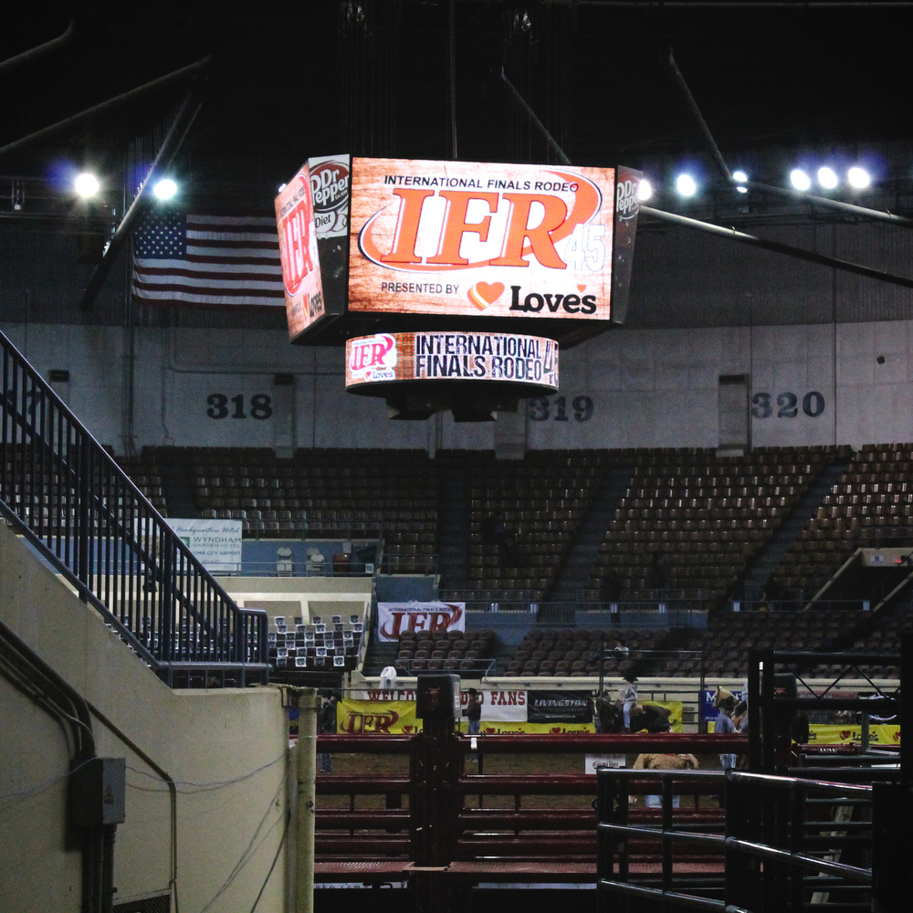 International Finals Rodeo 45 | Mrs Robbins Sparkles