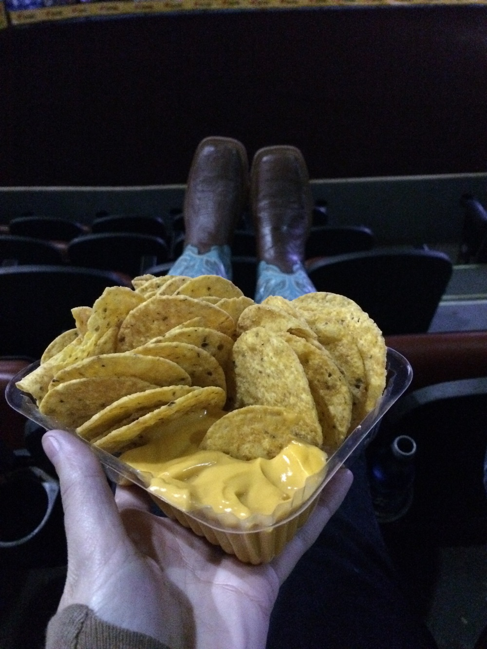 International Finals Rodeo 45 - Nachos and Boots | Mrs Robbins Sparkles
