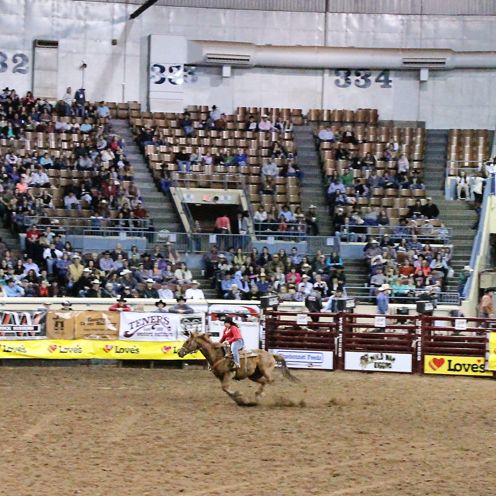 International Finals Rodeo 45 - Barrel Racing