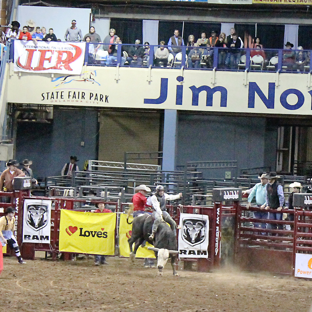 International Finals Rodeo 45 - Bull Riding