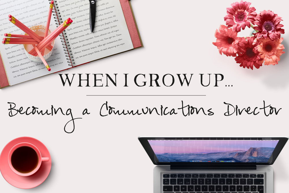 When I Grow Up: Becoming a Communications Manager (MrsRobbinsSparkles.com)