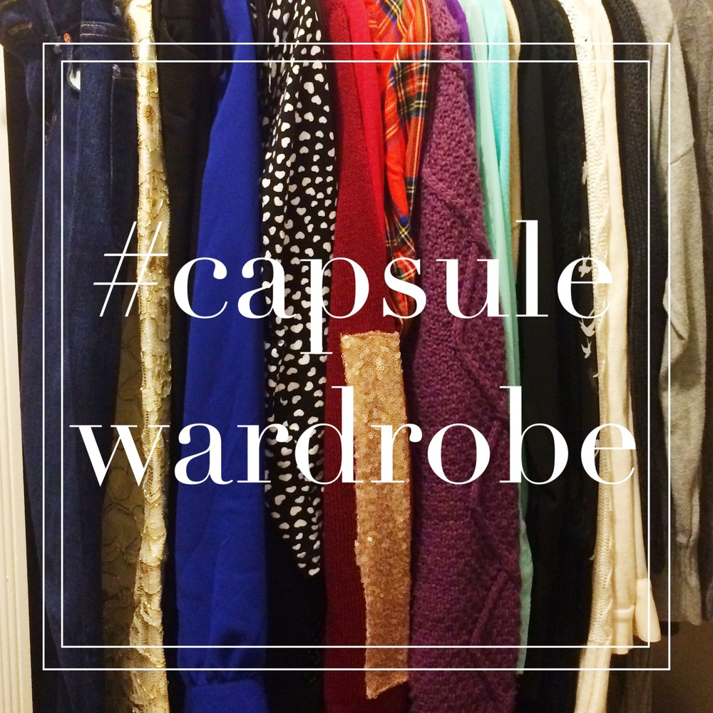 Capsule Wardrobe: What it is and why I'm doing it! - MrsRobbinsSparkles.com