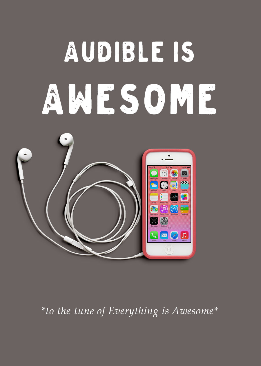 Audible is Awesome | MrsRobbinsSparkles.com
