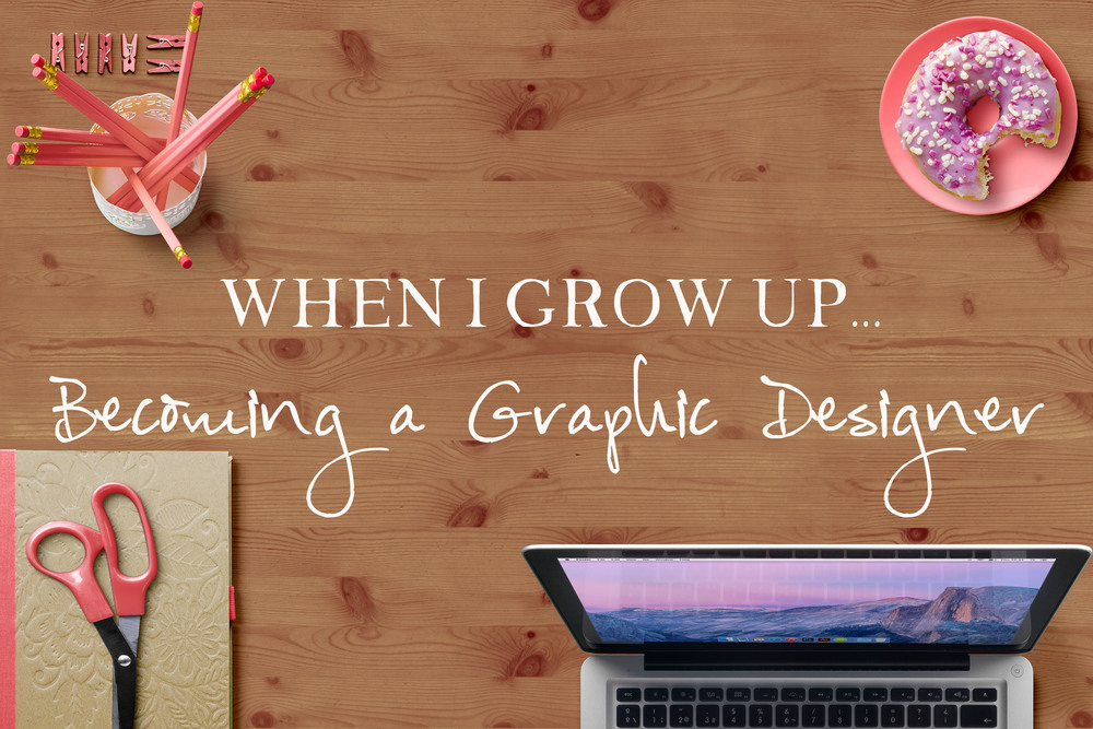 Becoming a Graphic Designer || MrsRobbinsSparkles.com