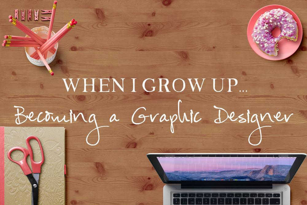 Becoming a Graphic Designer || MrsRobbinsSparkles.com