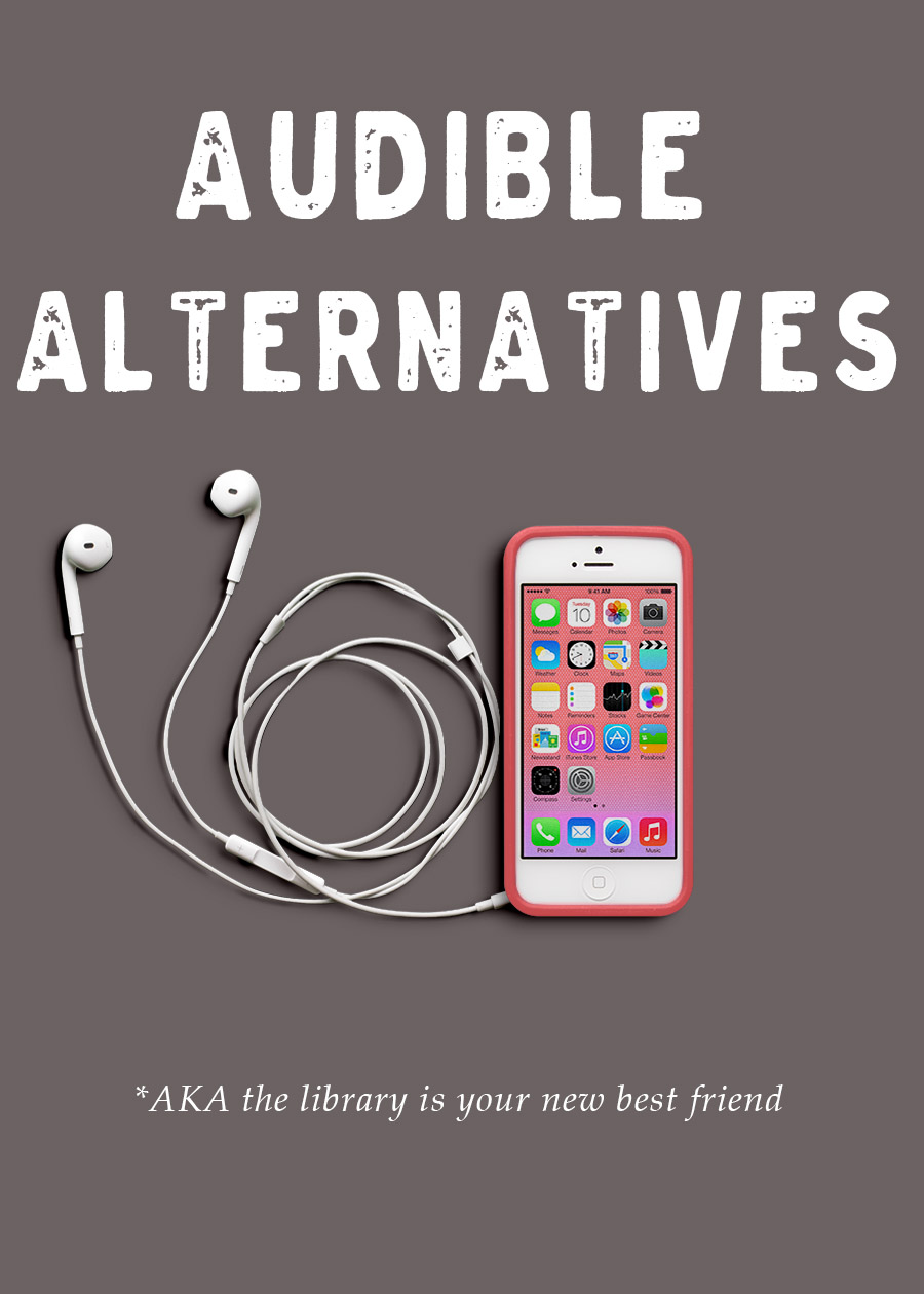 Audible Alternatives || MrRobbinsSparkles.com