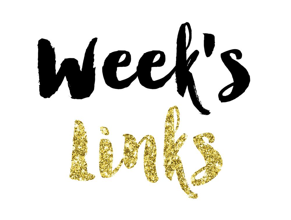 Week's Links || MrsRobbinsSparkles.com