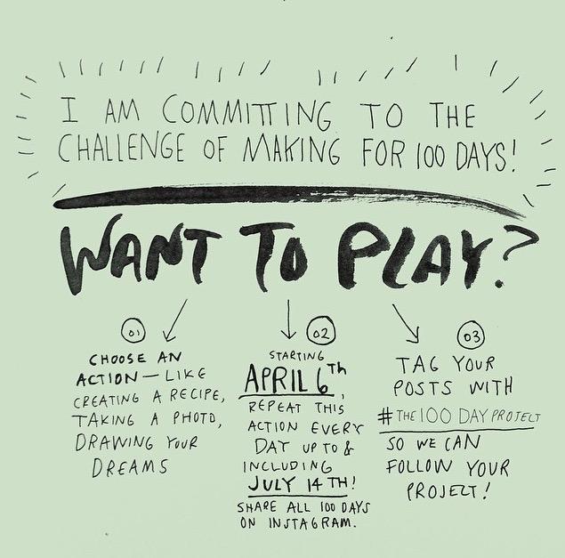 Want to play? #the100dayproject || MrsRobbinsSparkles.com