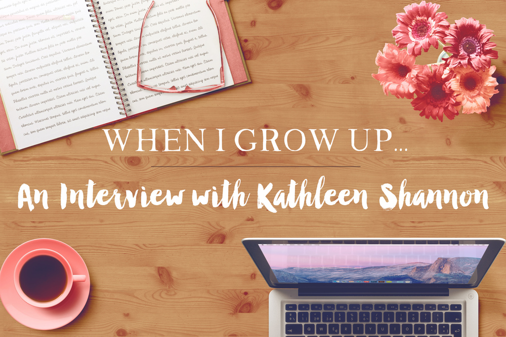 An Interview with Kathleen Shannon || MrsRobbinsSparkles.com