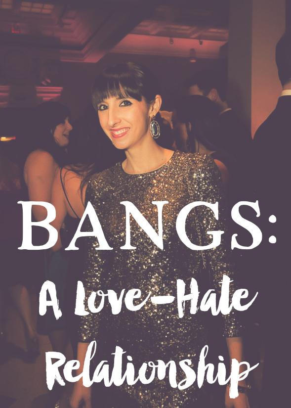 Bangs: A Love-Hate Relationship || MrsRobbinsSparkles.com