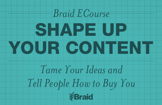 Shape Up Your Content by Braid Creative || MrsRobbinsSparkles.com