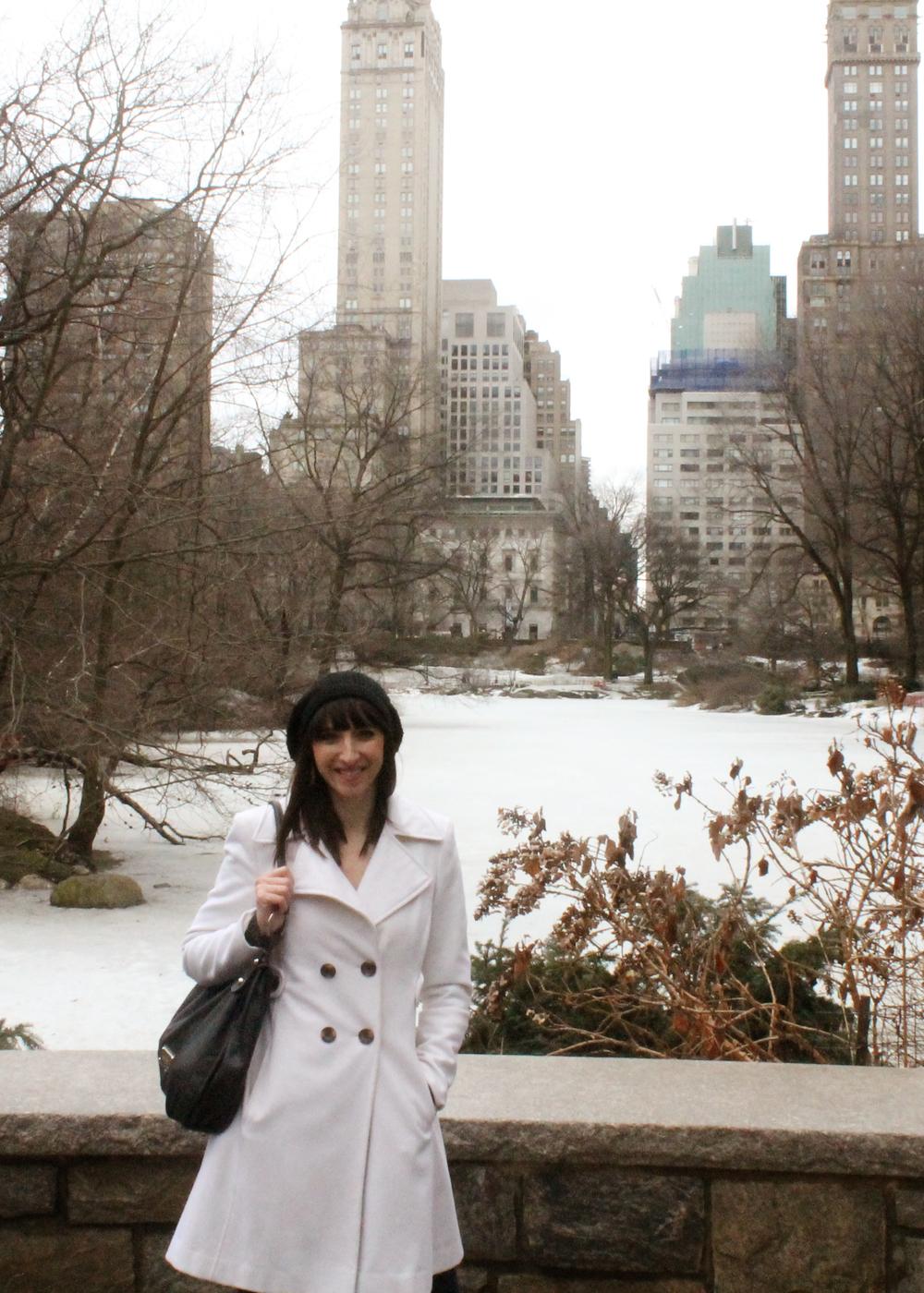 In Central Park || MrsRobbinsSparkles.com