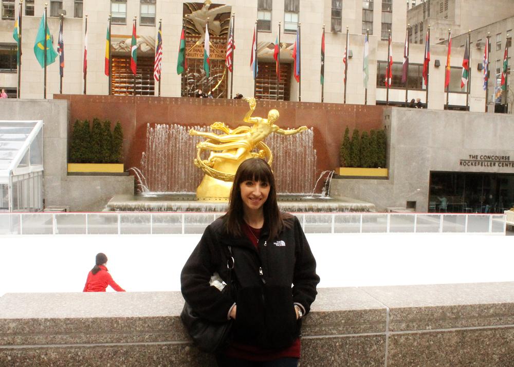 Rockefeller Center || MrsRobbinsSparkles.com