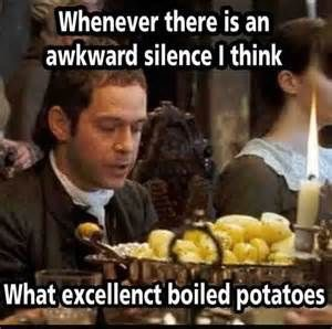 What excellent boiled potatoes...