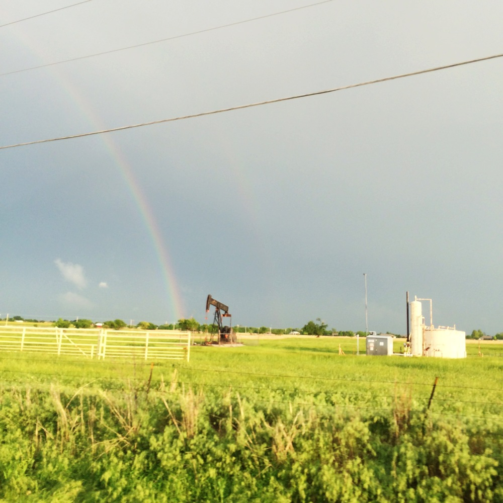 Rainbows in Oklahoma after the storm || MrsRobbinsSparkles.com