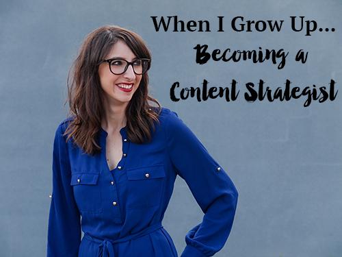 Becoming a Content Strategist - MrsRobbinsSparkles