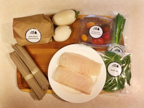 Cod and MIso Soba Noodles || MrsRobbinsSparkles.com