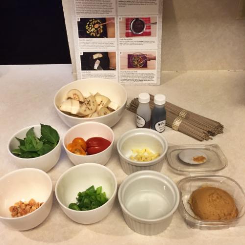 Blue Apron - Cod and Miso Soba Noodles || MrsRobbinsSparkles.com