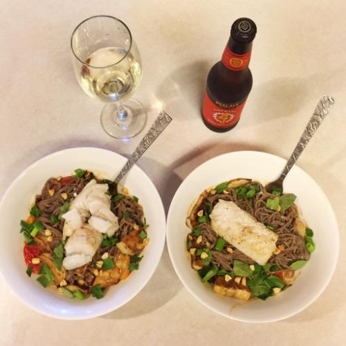 Cooking with Blue Apron || MrsRobbinsSparkles.com