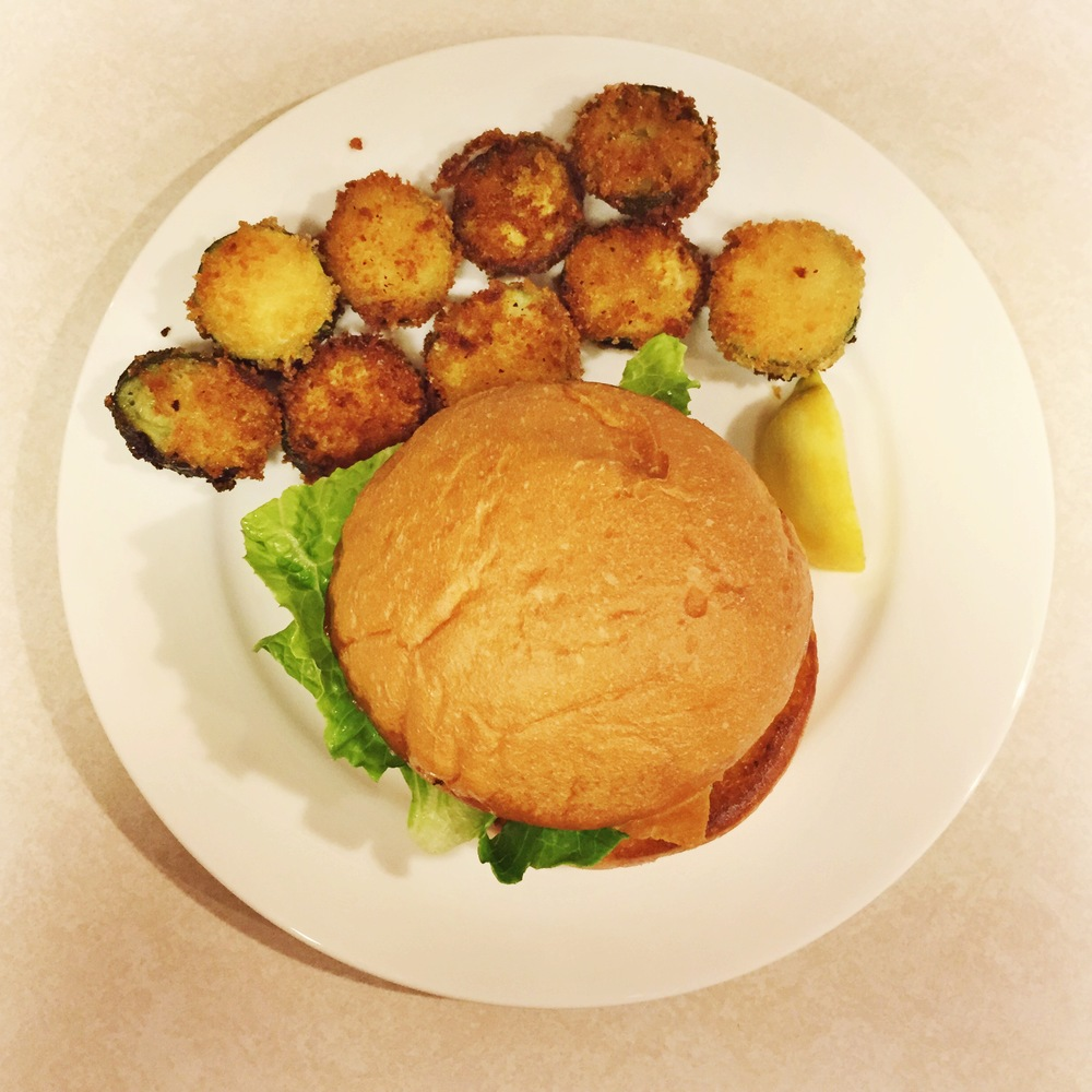Lamb Burgers - Mrs Robbins Sparkles cooks with Blue Apron