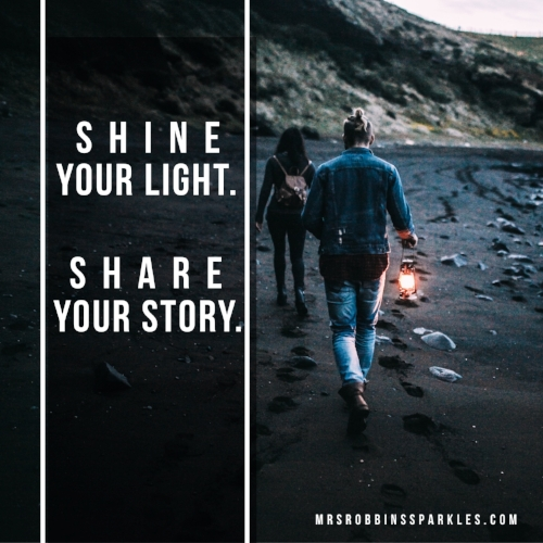shine your light share your story