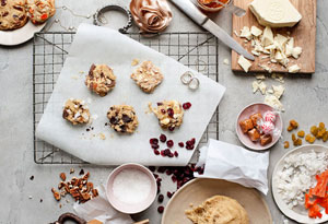 O Magazine, April 2011 Oatmeal-Vanilla Cookie Dough (Developer)