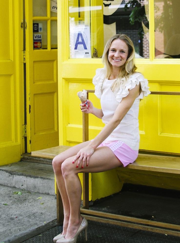 The Style Line, June 2014 Soho Eats with Ashton Keefe