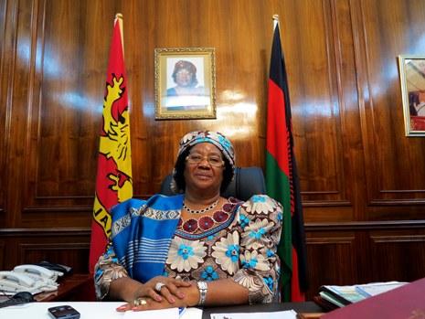 H.E. Dr. Joyce Banda,   Former president of Malawi