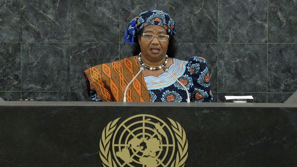 Her Excellency Joyce Banda ,  Former President of Malawi