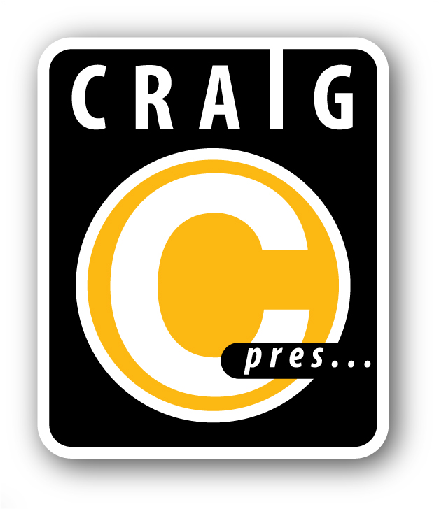 Logo for Craig C Presents, DJ Craig C