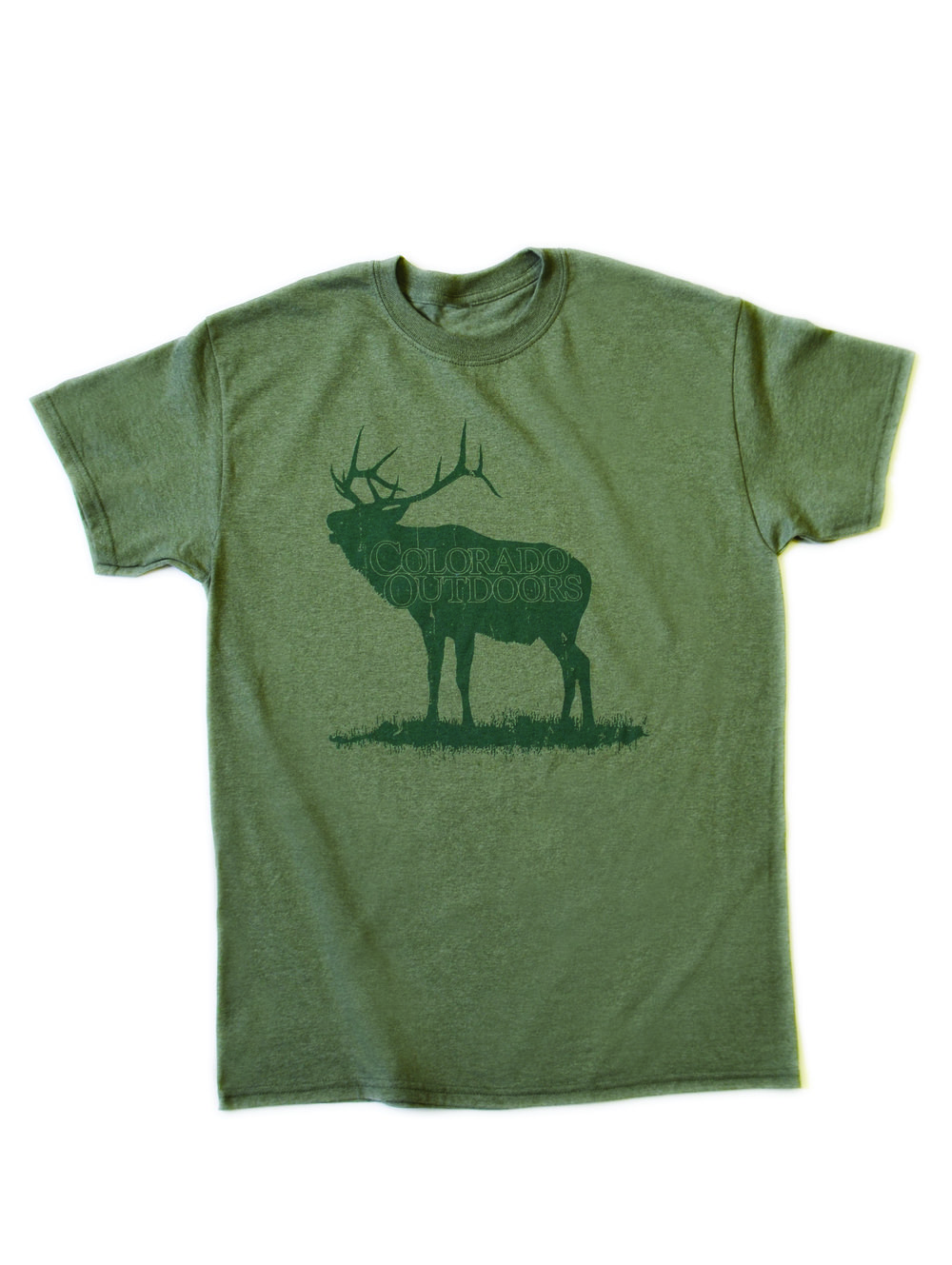 T-shirt for Colorado Outdoors magazine