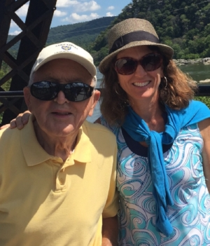 Here we are at Harpers Ferry, WV last summer.