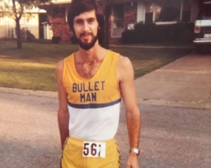 Dennis Rainer was shot in the head while running a marathon in Michigan. He kept running, finishing the race in just over three hours. (Courtesy of Dennis Rainear)