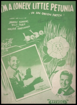 The original sheet music.  Click here to hear it.