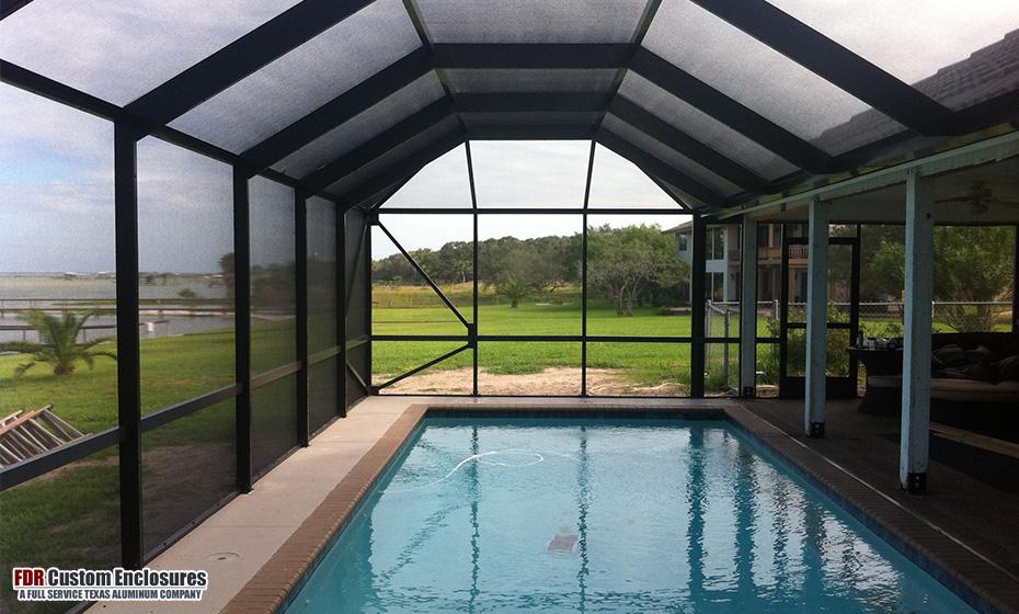 Pool Enclosures Pool Cages Fdr Custom Enclosures Llc
