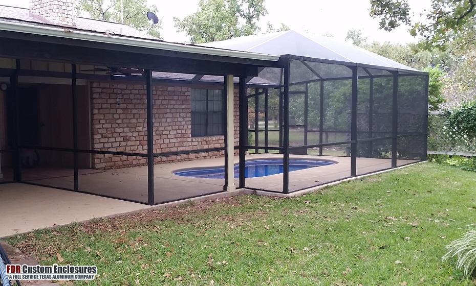Pool Enclosures Amp Pool Cages Fdr Custom Enclosures Llc