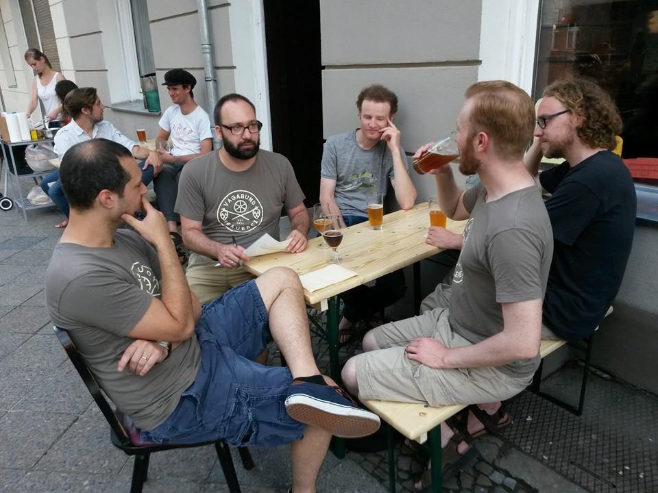 The Vagabund brewery team (Facebook)