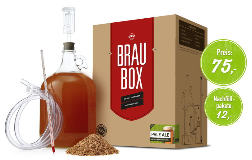 The Brau box: sold by Besserbrauer