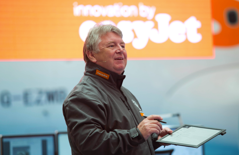 Picture taken at easyJet's innovation day